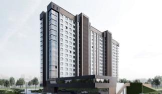 Многоквартирный 16-ти этажный жилой дом